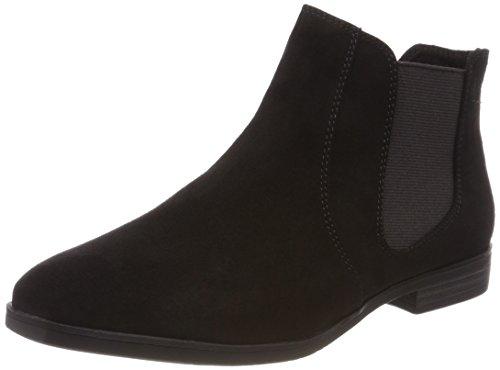 s.Oliver Damen 25302 Chelsea Boots, Schwarz (Black), 40 EU (Chelsea Schuhe Schwarz)