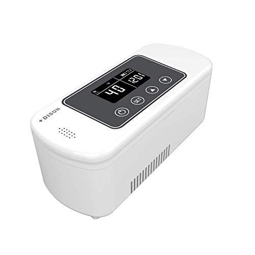 Dison Care Mini-Kühlschrank Insulin-Kühler Travel Case 2-8 Grad tragbarer Insulin-Kühlschrank