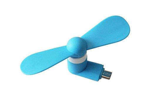 CAOLATOR Ventilador USB Mini Portátiles 5 Pin Ventilador Micro Fan de Desmontable...