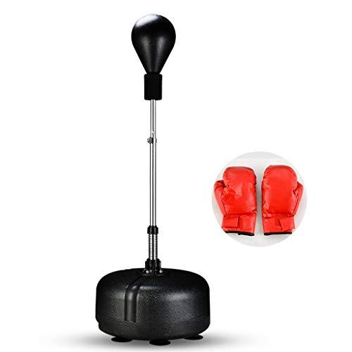 Sacos de suelo Bolsa De Boxeo Boxeo Velocidad De Entrenamiento De Reacción, Blanco Vaso De Ventilación, Bola De Descompresión Boxeo Vertical para Adultos, Envío De Guantes