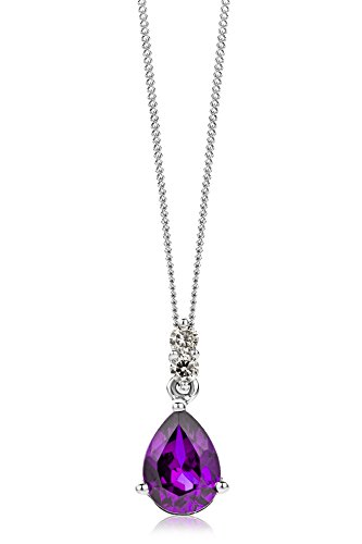 Miore - Collier Femme  375/1000 (9 carats) Lila