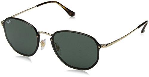 Ray-Ban RAYBAN Unisex-Erwachsene Sonnenbrille 3579n Arista/Green, 58