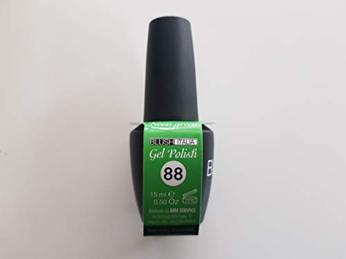 Gel Polish 15 ml semipermanenti Blush Italie 96 couleurs ultra coprenza maximale durée (88 – Neon Green)