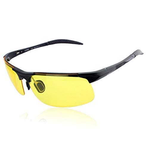 d4b9d3975a LATEC Gafas de Sol de conducción polarizada, Gafas de conducción para  Hombres Gafas Deportivas Gafas