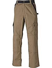 Dickies IN30030 - Pantalones industria 300 de color caqui/negro kbk 94,