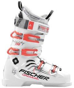 Fischer Damen Skischuh Trinity 110 Vacuum weiss (100) 25,5 (Skischuhe Damen 100)