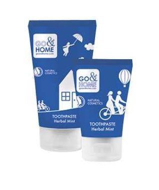 Go & Home Toothpaste- Herbal Mint 75 ml