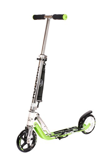 Hudora Big Wheel 180 - Patinete clásico, color verde