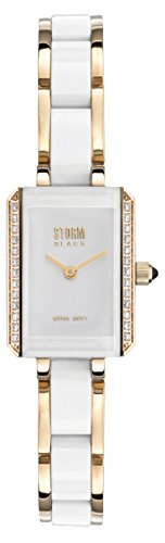 STORM Womens Quartz Watch, Analogue Classic Display and Ceramic Strap 47032/GD