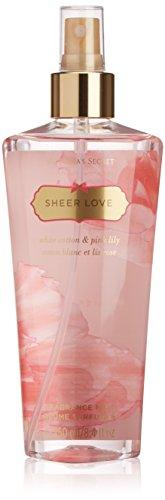 Victoria's Secret Sheer Love parfümiertes Bodyspray, 1er Pack (1 x 250 ml)