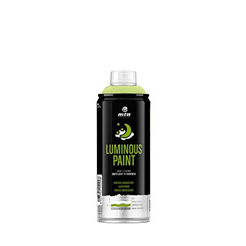 s 400ML GLOW IN THE DARK Spray Paint by Montana ()