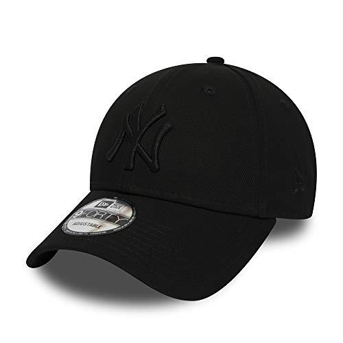 New Era 9Forty Snapback Cap NY Yankees Schwarz Schwarz, Size:ONE Size Osfm Flex Cap