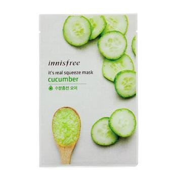 Innisfree Its Real Squeeze Mask - Cucumber 10pcs