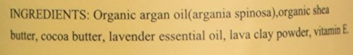 Elma & Sana, LLC Elma and Sana Argan Oil Whipped Moisturizer for Skin, Hair, Nail and Feet, Body Butter, 2.5 Ounce