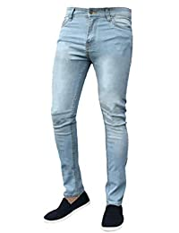 d7f8229a Mens G-72 Stretch Skinny Slim Fit Denim Jeans Cotton Pants
