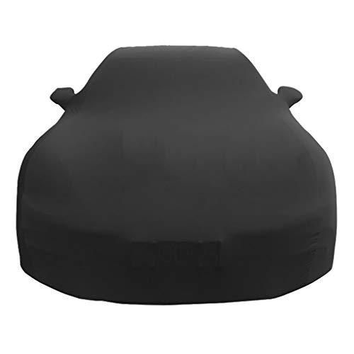 DONGLIAN Car Cover Kompatibel Mit BMW Black Anpassbare Velvet Elastic Car Cover for Indoor Auto Show (Size : Mini Clubman) Stretch Velvet Mini