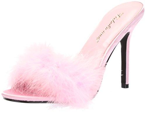 Fabulicious CLASSIQUE-01F B. Pink Pu-Fur