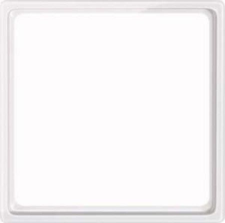 Merten 518519 Zwischenring für Kombieinsätze nach DIN 49075, polarweiß glänzend, System M, Weiß