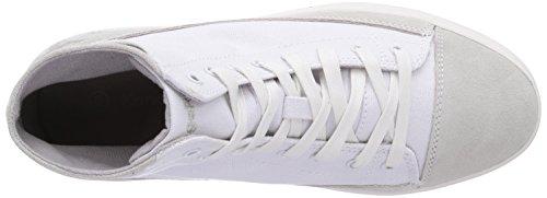 KangaROOS K-Mid Plateau 5072 Damen Hohe Sneakers Weiß (White 000)