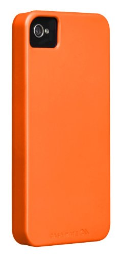 Case-Mate - Barely There Hard Case, Schale für iPhone 4 / iPhone 4S - electric grün orange