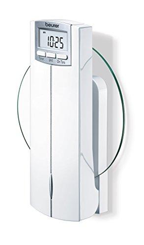 Beurer KS-52 - Balanza de cocina para la pared, 5 kg/1 gr, función auto-tara, color blanco