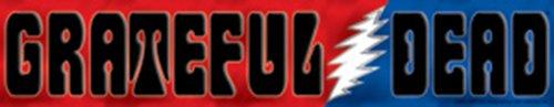 Gdp Inc. Grateful Dead 60's Red & Blue Logo, Official Licensed, 8.5