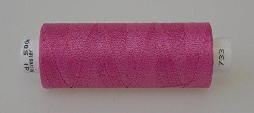 Gütermann Nähgarn Allesnäher Toldi 500 m - freie Farbwahl 733 pink
