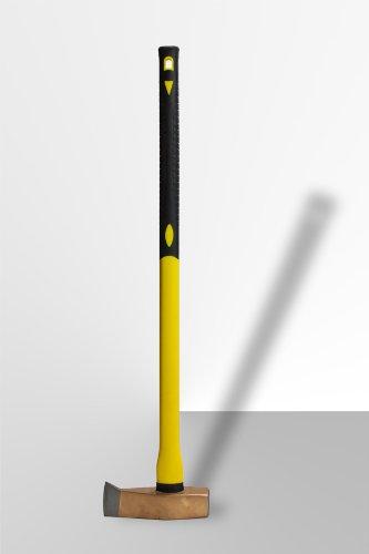 DEMA Spalthammer 3000g mit Fiberglas-Griff