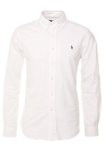 Polo Ralph Lauren Hemden Herern Oxford Classic Fit (s, Bianco)