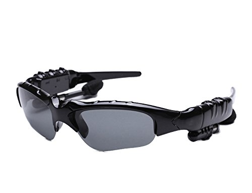 Feicuan Wireless Bluetooth Sonnenbrille mit Kopfhörer Hand Free für Cellphone Hiking Bicycling Driving
