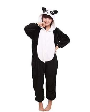 Keral Kigurumi Pyjama Adulte Anime Cosplay Halloween Costume Tenue_Panda_Xl