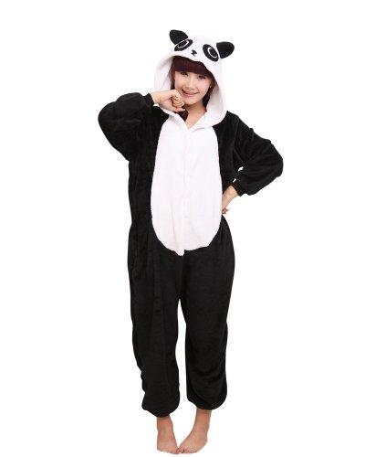 Keral Kigurumi Pigiama Adulto Anime Cosplay Halloween Costume Attrezzatura_Panda_M