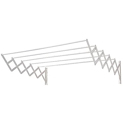 AFT - Extensible Clothes Drying Rack Wall Mounted Epoxy Oryx 1.00 m