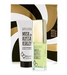 Alyssa Ashley Musk Set (Eau De Parfum 25 Ml Spray + Lozione Idratante Mani E Corpo 100 ml)