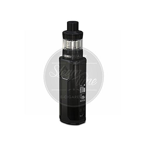 Wismec Sinuous P80 Kit inkl. Elabo Tank Farbe Schwarz