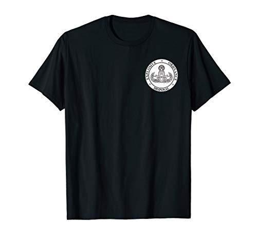 Explosive Ordnance Disposal EOD Master Navy Insignia T-Shirt -