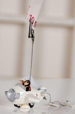 Foto clip boda unisex juego Hucha forma 13 cm alto