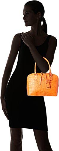 Laurèl Damen Tasche Henkeltasche, 12x21x27 cm Orange (Orange)