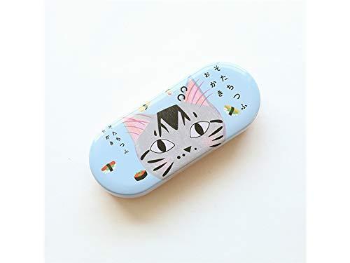 Brillenetui Creative Cat Brillenetui Eyewear Protector Box für Studenten und Kinder (Pink)...