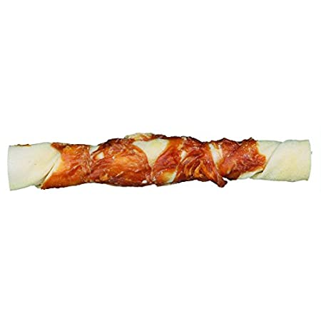 Trixie 31327 Denta Fun Chicken Chewing Rolls, 17 cm, 3 St./140 g