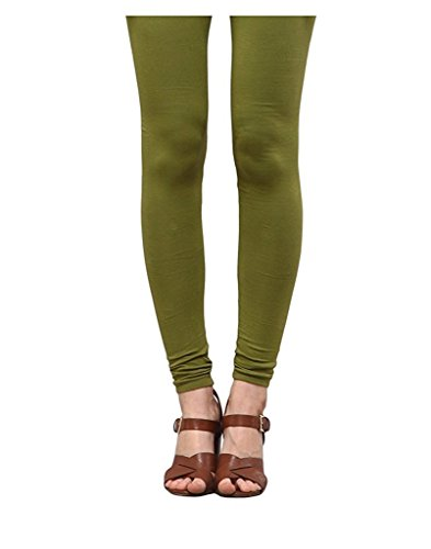 Pi World Premium Leggings Churidar Ankle Length Made of Soft Stretch Comfortable Breathable Cotton Mix Lycra Solid Colors (Multi Color Free Size XL 30 to 36 inches XXL 34-40 inches Waist)  available at amazon for Rs.249