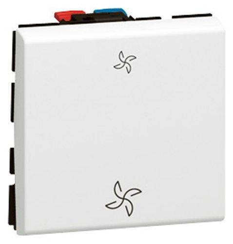 Legrand LEG99639 - Telecomando Mosaic VMC per ventilazione meccanica controllata, da comporre
