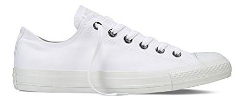 Converse Chuck Taylor All Star, Unisex - Erwachsene Sneaker, Unisex - Erwachsene Sneaker, Weiß (Monoch), 40