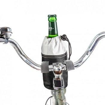 Donkey Products Bottle Bag Bike Bag, Fahrradtasche, Radtasche, Flaschentasche, Schwarz / Weiß, 300752