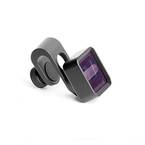 LENS Handy Anamorphic 1.33X Breitbild-Video-Breitbild-Videokamera für iPhone X / Iphone8 / 8-Stecker / 7 / 7plugs / 6 / 6s / iPhone / 5 / SE, Samsung S8 / S7 / S6, LG HTC und anderes Smartphone 1.33