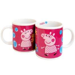 Taza Peppa Pig Hearts ceramica