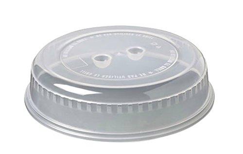 Toyma 342-49 blanco transl - Tapa microondas redonda