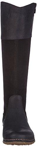 El Naturalista N990 Antique-Lux Suede Black /Angkor, Boots femme Noir