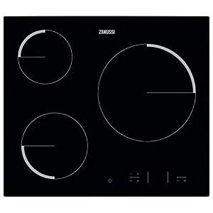 Zanussi ZEV6330FBA hobs – Placa vitrocerámica con control táctil Easy Touch, Negro