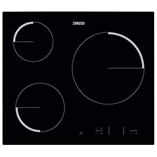 Zanussi ZEV6330FBA hobs – Placa vitrocerámica con control táctil Easy Touch, Negro
